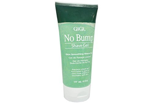 Gigi No Bump Shave Gel Unique Shave Gel That Gives a Precise, Ultra-close Shave While Preventing Bumps and Razor Burn - Size 6 Oz