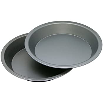 OvenStuff Non-Stick Cake/Pie Pan 2 Piece Set 9   sc 1 st  Amazon.com & Amazon.com: Focus Foodservice Commercial Bakeware 10 Inch Pie Pan ...