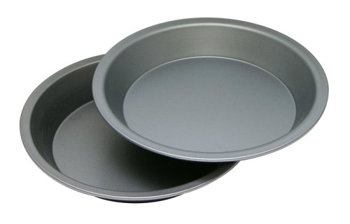 OvenStuff Non-Stick Pie Pan 2 Piece Set, 9