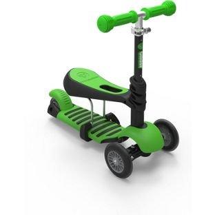 Planeador Yvolution Y 3-en-1 Scooter - verde.: Amazon.es ...