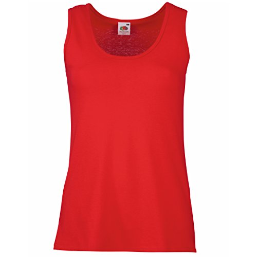 Fruit of the Loom, Tank Top para Mujer Red