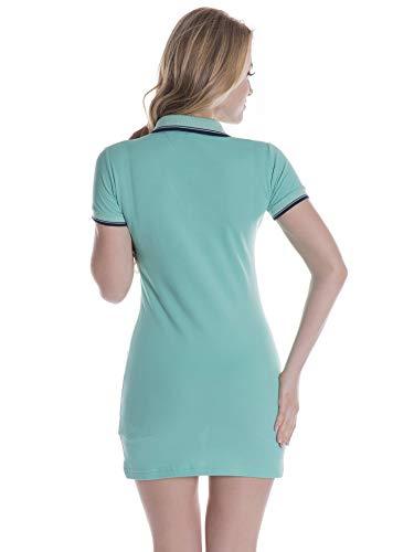 Vestido Para Di Giorgio Mare Lightgreen Mujer SxCwwzpZq