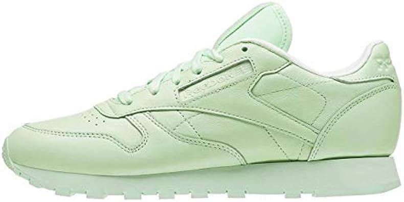 borracho Barry Soledad  Amazon.com: Reebok Classic Leather Pastel – Zapatillas para mujer, Verde, 6  B(M) US: Shoes