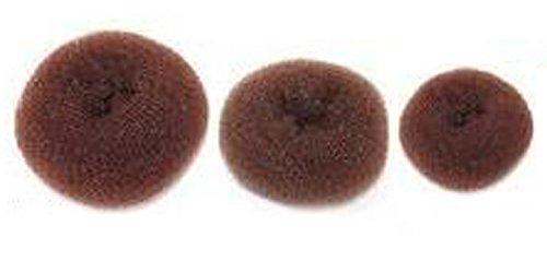 3 Pieces (1Large+1Middle+1Small) Women Hair Bun Maker Styler Rings Donut Buns Doughnut Shaper Chignon Former