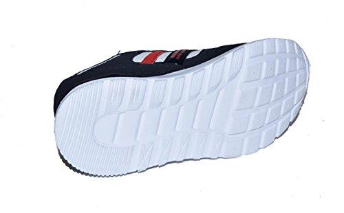 BTS - Zapatillas de Piel para niño 36 Varios Colores - Schwarz/ Weiss