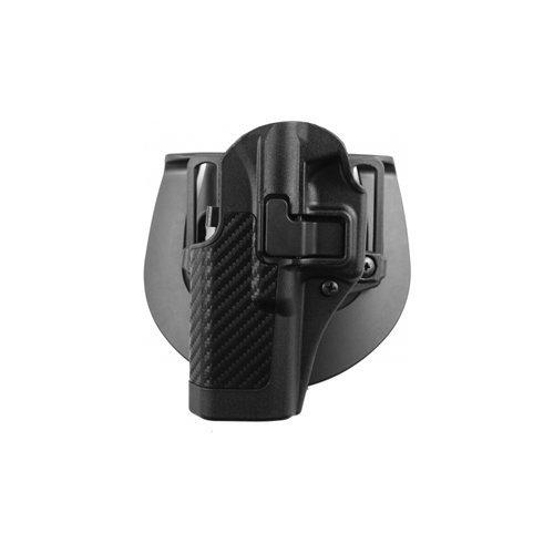 BLACKHAWK! Serpa CQC Carbon Fiber Appliqué Finish Concealment Holster, Size 09, Right Hand, (H&K USP Compact)