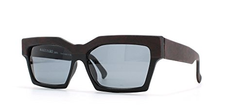 Alain Mikli 89 318 768M Black and Red Authentic Men - Women Vintage - Alain Mikli Sunglasses
