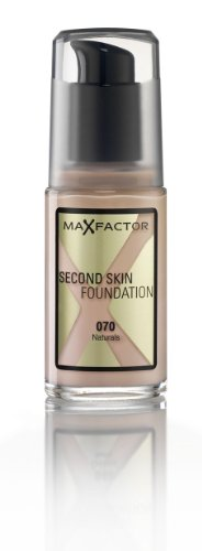 Max Factor Second Skin Foundation Foundation, No. 070 Natural, 1 Ounce