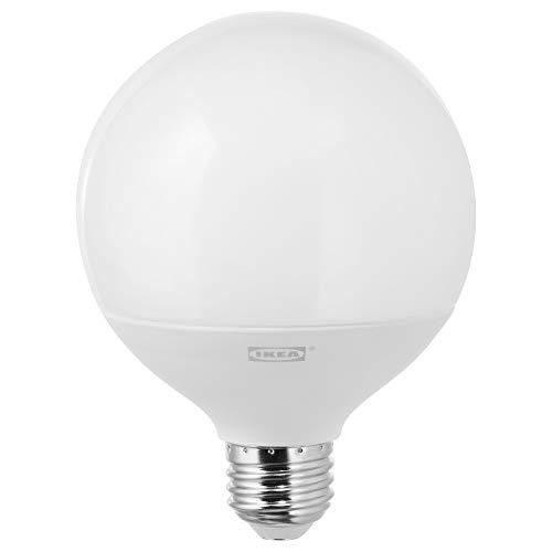 IKEA 903.866.39 Ledare Led Bulb E26 1000 Lumen, Dimmable Warm Dimming, Globe Opal