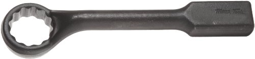 - Martin 8860MM Forged Alloy Steel 60mm Opening 45 Degree Offset Striking Face Box Wrench, 12 Points, 14