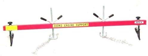 D+L 500kg Motorbr/ücke Kotfl/ügeltraverse 06158 Motor Getriebe Motorhalter Motorheber