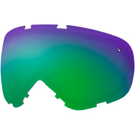 Smith Cadence Replacement Goggle Lens Green Sol-X Mirror, One Size by Smith Optics