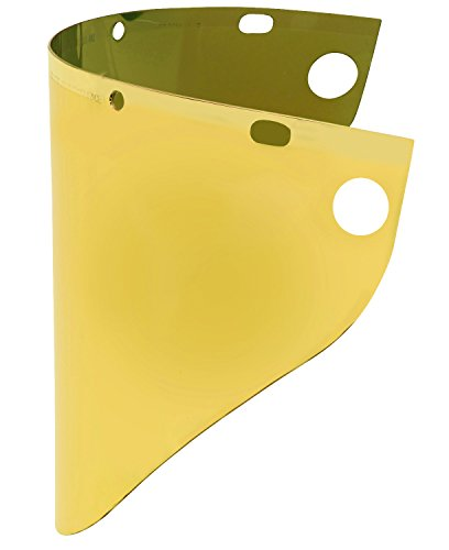 Fibre-Metal by Honeywell 4199GDTVGY Gold plated for High Heat Applications Face shield Window
