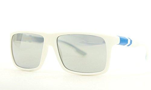 BIKKEMBERGS Herren Sonnenbrille BK-68103, Weiß (White/Blue), 58