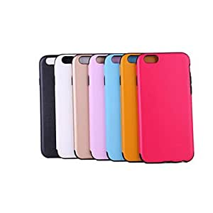 ZL PU Leather Small Litchi Grain Design for iPhone 6 (Assorted Colors) , Rose