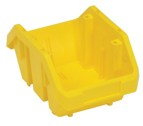 Quick Pick Double Sided Bin - Quantum Storage Systems QP965YL Quick Pick Bins 9-1/2-Inch by 6-5/8-Inch by 5-Inch, Yellow, 20-Pack