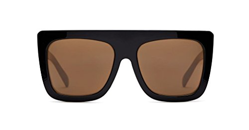 Quay Cafe Racer Oversized Sunglasses (Black, - Racer Sunglasses Cafe