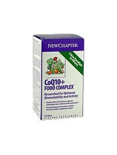 New Chapter - Coq10+ Food Complex 60 Vcaps Pack Of 2 by New Chapter