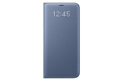 Genuine Samsung LED View Cover Flip Wallet Case for Samsung Galaxy S8+ / S8 Plus - Blue (EF-NG955PLEGWW)