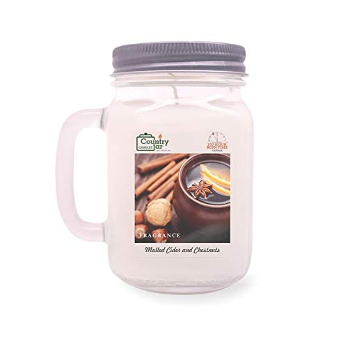 Country Jar Mulled Cider and Chestnuts Soy Candle (14.5 oz. Mason Jar) Spring Pick-3 Sale! See Details.
