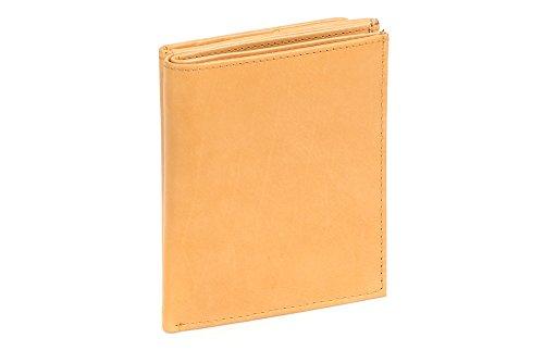 Portafoglio Boxed Style LEAS, Vera Pelle, beige - ''LEAS Special Edition''