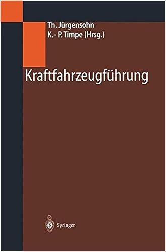 E-kirjat lataavat syttyä Kraftfahrzeugführung (German Edition) RTF