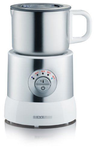 Severin SM 9685 700 ml 500 Watts Induction Electric Milk Frother with Variable Temperature Control S79685