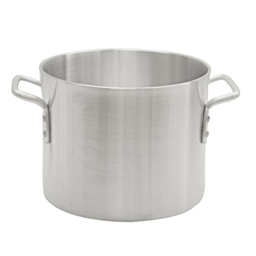 Thunder Group 12 Quart Aluminum Stock Pot