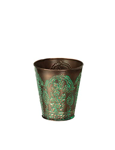 Paisley Copper (Regal Art & Gift Paisley Paisley Tapered Planter, 4