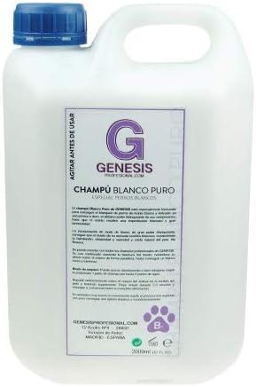 TODOPETS CHAMPU Genesis Blanco Puro 2 L.