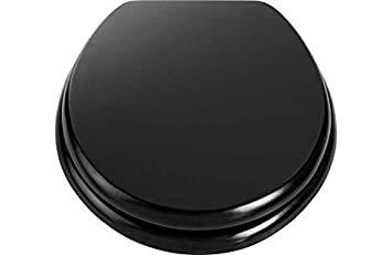 Wooden Toilet Seat   Black  by OtherWooden Toilet Seat   Black  by Other  Amazon co uk  Kitchen   Home. Wooden Black Toilet Seat. Home Design Ideas