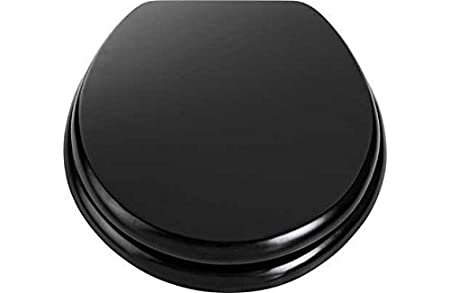 Swell Wooden Toilet Seat Black By Other Gmtry Best Dining Table And Chair Ideas Images Gmtryco