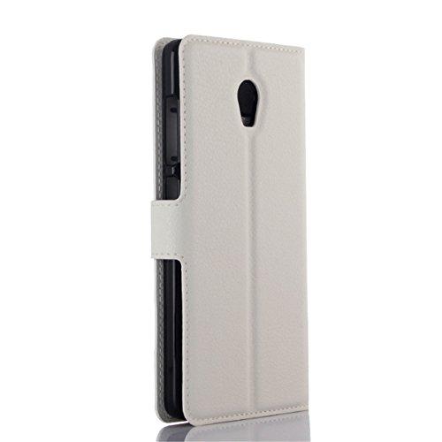 Lenovo P1 5.5 inch Funda, Lenovo P1 Funda, Lifeturt [ cyan diamante ] Cubierta de la caja de cuero superior de la carpeta del libro para Lenovo P1 5.5 inch E02-13-Happy