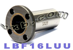 16mm Round Flanged Long Bushing Linear Motion