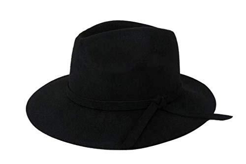 ... De Campana Otoño Hombres Unisex Mujeres Invierno Modernas Casual Sombrero De Fieltro Sombrero De Fieltro Negro Alcance 57Cm Gorras (Color : Kamel, ...