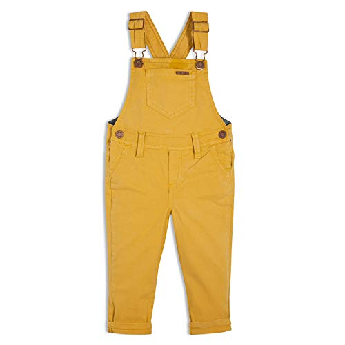 (OFFCORSS Yellow Toddler 5T Bib Overalls Boys Kids Baby Clothes Overoles para Niños)