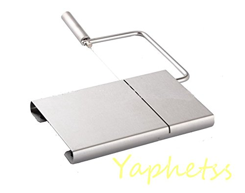 Home Kitchen Multi-fuctional Stainless Steel Cheese Butter Slicer Cutting Board Baking Tool