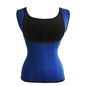 2fceb5d32e0f2 HITSAN INCORPORATION Neoprene Vest Waist Trainer Fajas Sweat Body Shaper  Slim Shapewear Tank Tops Women Corsets