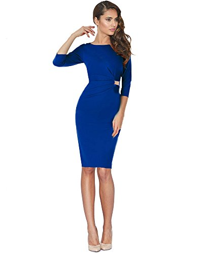 ARM in ETUIKLEID BUSINESS 46 GERMANY BLAU KNIELANG 3 DREZZ2IMPREZZ KLEID MADE Gr PINA 4 40 qOwxEZXd