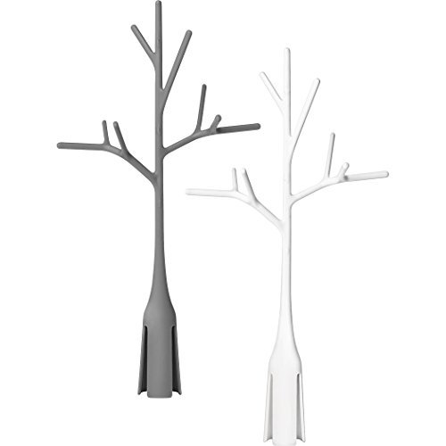Boon Twig Drying Rack Accessory 2 Pack, Gray and White by Boon Inc.