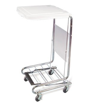 Hausmann Model 2189 Mobile Laundry Hamper Stand by Hausman