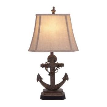 Amazon deco 79 95765 polystone anchor lamp corner table light deco 79 95765 polystone anchor lamp corner table light aloadofball Image collections