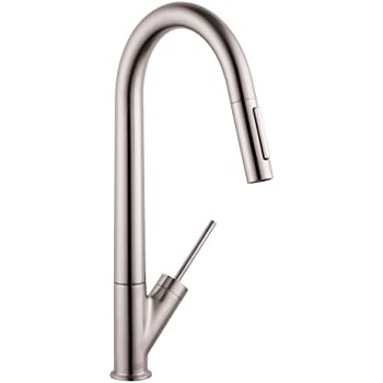Hansgrohe 39835001 Axor Citterio Pull Out Spray Kitchen