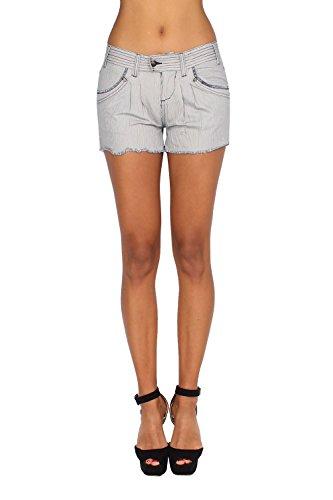 PEPE JEANS - Women's Shorts DANA Z63 - blue, W25 (Pepe Shorts Jeans)