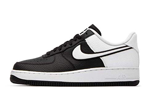 Nike Men's Air Force 1 LV8 Black/White Leather Casual Shoes 11.5 M US