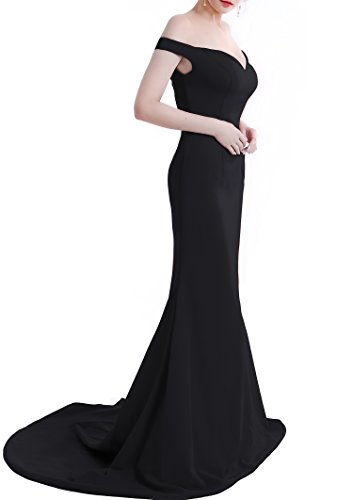 long black evening dress size 10 - 4