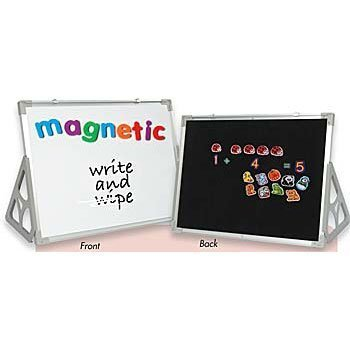 (3 'N 1 Magnetic Wipe-Off, Flannel Boards & Stands - 18