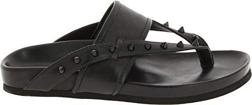 - Barbara Bui Women's J5679n10black Black Leather Flip Flops