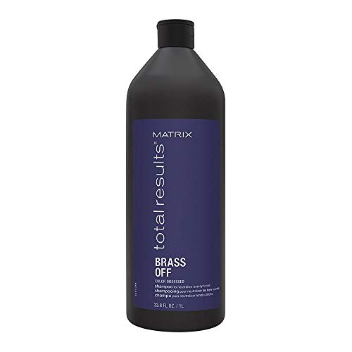 Matrix Total Results Brass Off Shampoo 33.8 oz