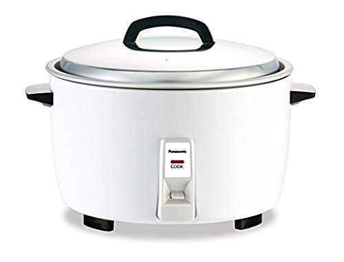Panasonic SR-GA421 23 Cup Commercial Automatic Rice Cooker, White